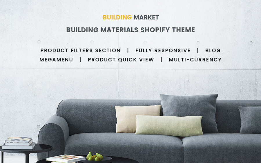 Building Materials Responsive Shopify Theme