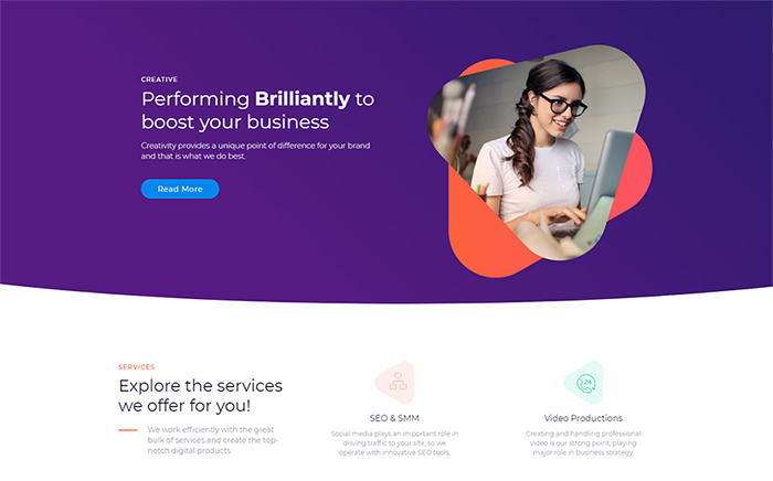 Marketz - Digital Agency Pro Elementor Template
