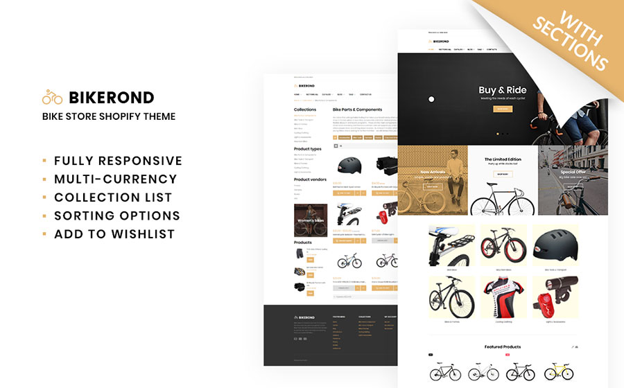 Bike Shop Template