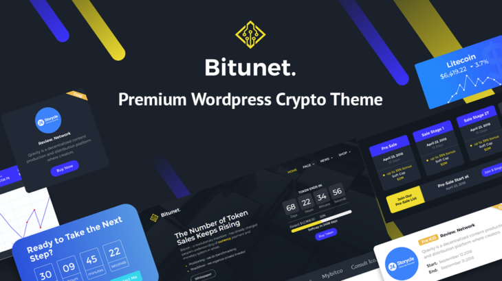 Top 10 Cryptocurrency WordPress Elementor themes