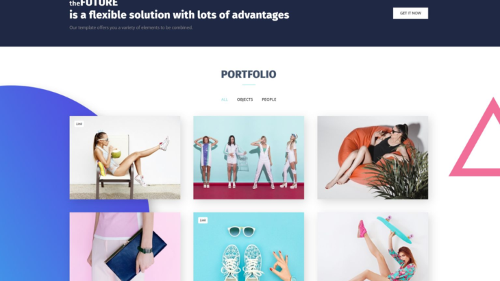 Collection 10 Top Portfolio Templates With Stunning Design