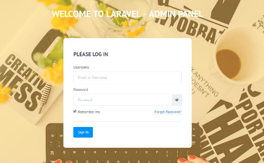 10 Free Dashboards And Templates For Laravel Creative