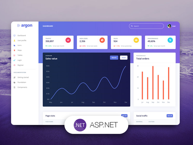 Argon Dashboard