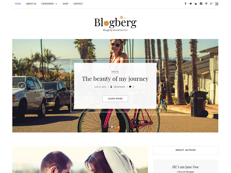 Blogberg Theme