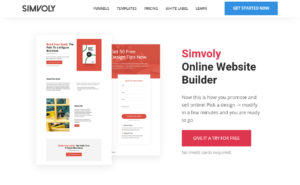 Simvoly Web Page Builder