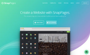 SnapPages Online Website Builder