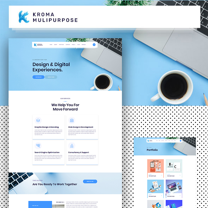 Kroma | Creative Multipurpose Website Template