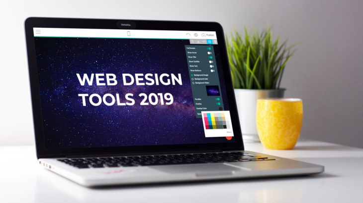 Web design software 2019