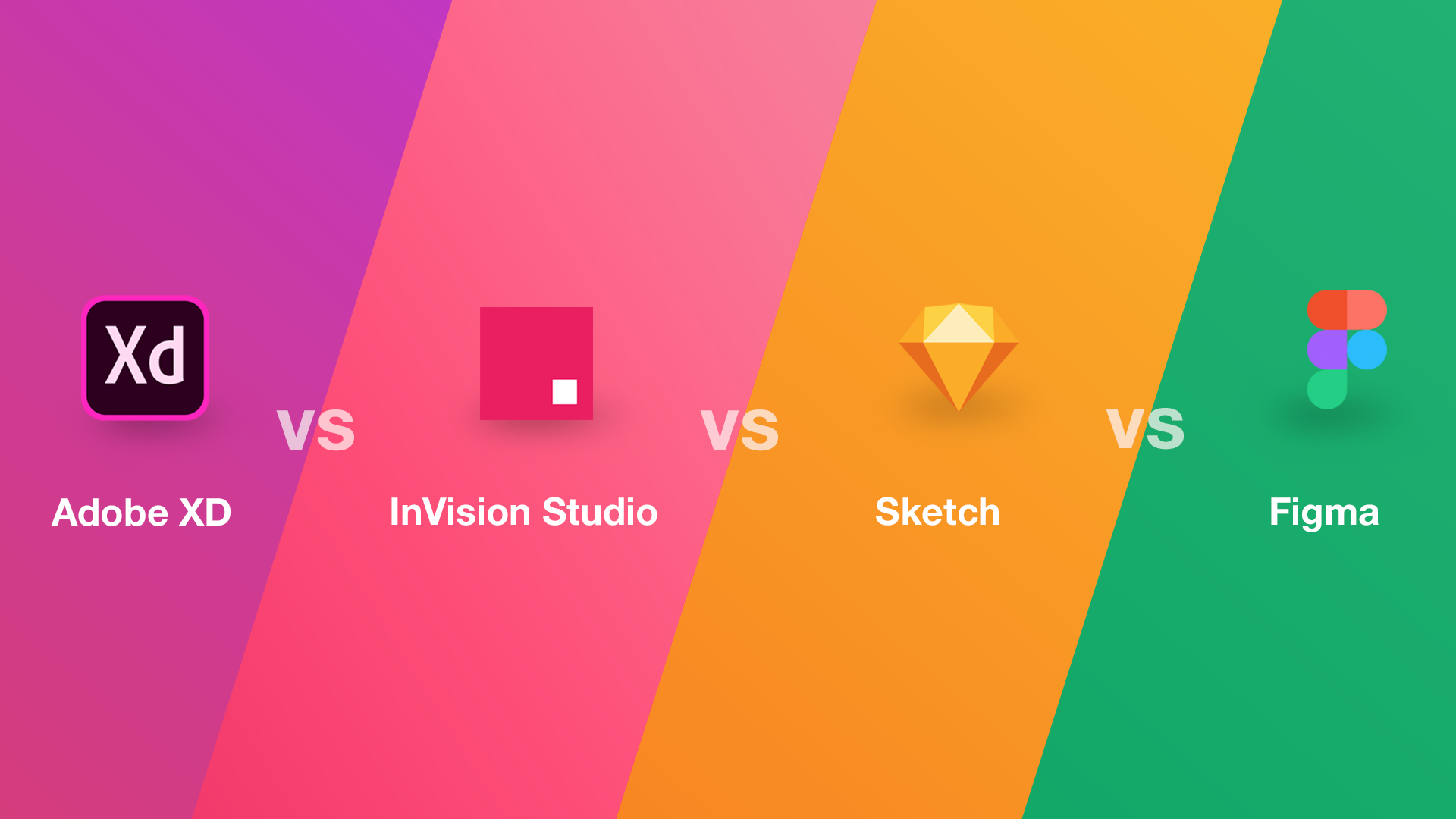 Adobe XD vs Sketch vs Figma vs InVision - Creative Tim's Blog