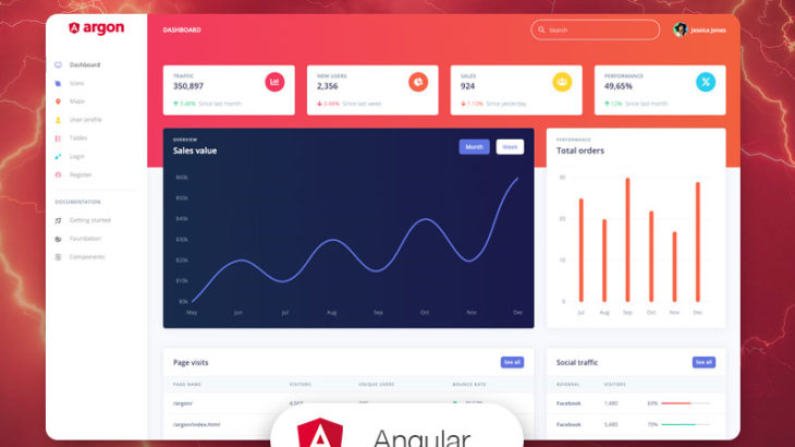 angular free templates