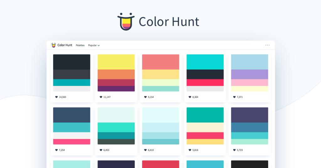 illustration tools color hunt
