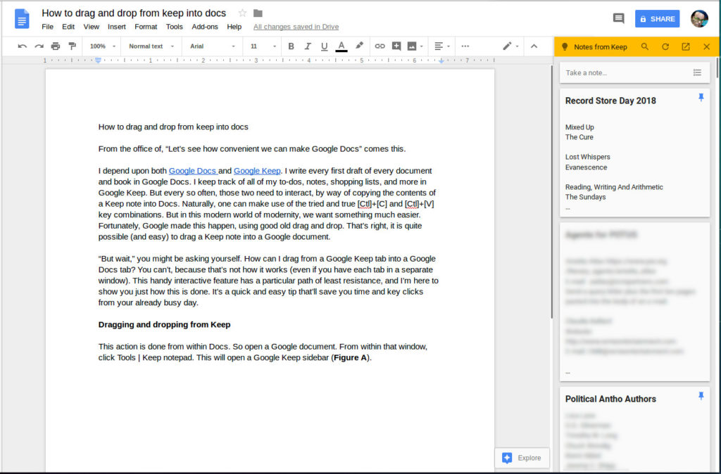 google docs productivity tools