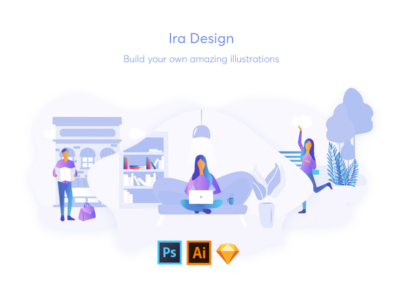 illustration tools ira design