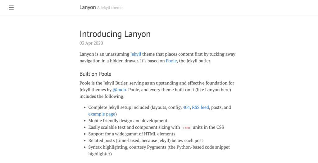 layon theme preview