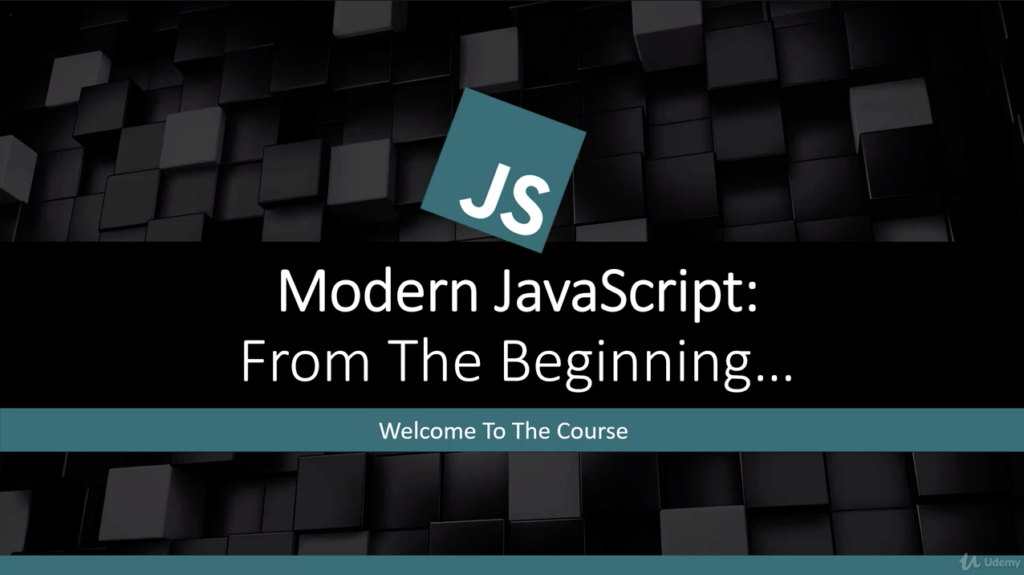 The Modern JavaScript from the Beginning